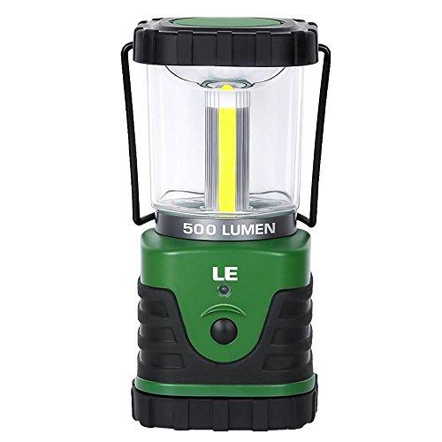 LE 高輝度500ルーメン 3点灯モード LEDランタン 9W 昼白 防水 電池仕様 アウトドア キャンプ 登山 釣り 愛犬の散歩