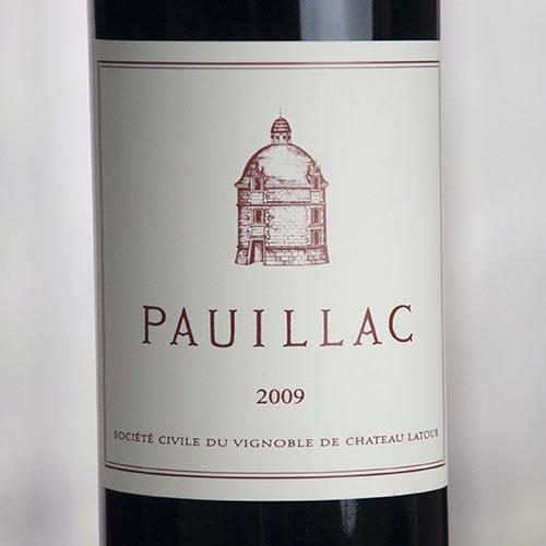 ポイヤック・ド・ラトゥール[2009](辛口・赤 ボルドー 5大シャトー ポイヤック シャトー・ラトゥール ポイヤック ワイン)Pauillac de Latour[2005]