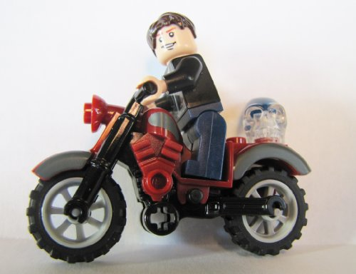 [해외] LEGO INDIANA JONES MUTT WILLIAMS미니 피규어,레드CLASSIC MOTORCYCLE & SKULL KINGDOM OF THE CRYSTAL SKULL-