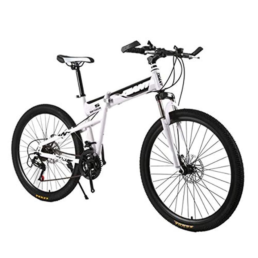 飾る裕福なバレーボール26インチマウンテンバイク屋外21スピード自転車フルサスペンションMTBバイク、デュアルディスクブレーキアルミニウムフレーム,白