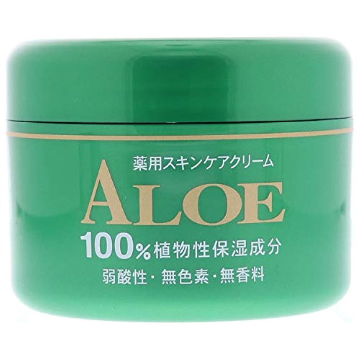 前文動買い手アロエ薬用 スキンケアクリーム 185g