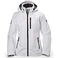 Helly Hansen Women's Crew Hooded Waterproof Windproof Breathable Rain Coat Jacket