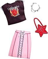 バービー フルルック グランジトップとレースアップスカート ファッションパック