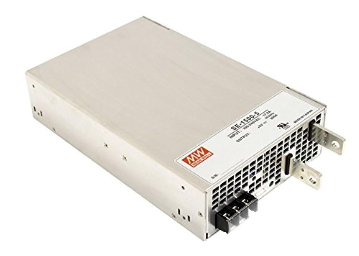 遠いパーセントセットするメタルフレーム??????電源1500W 24VDC/62.5A SE-1500-24 Meanwell AC-DC スイッチング電源 SE-1500シリーズ明纬電源