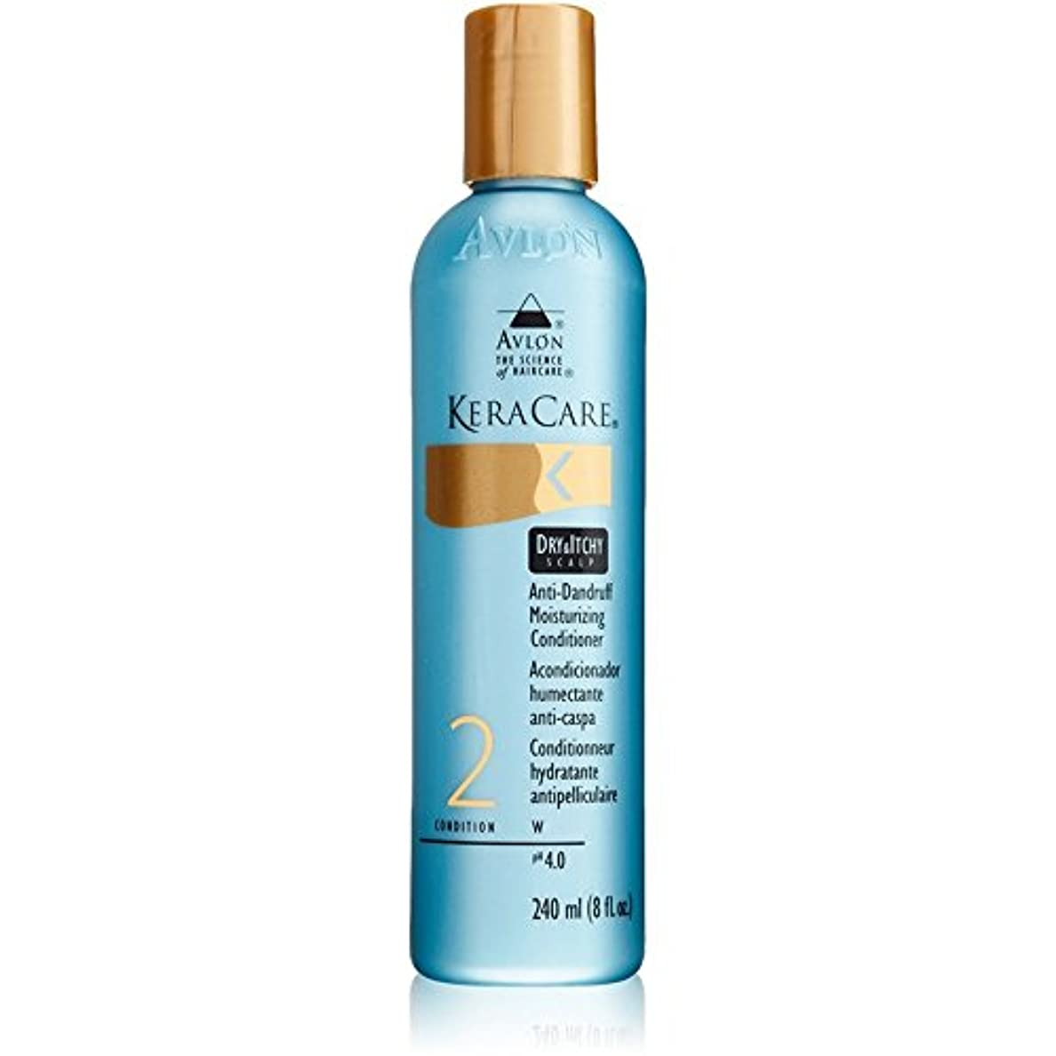 スープ虫認識KeraCare Dry and Itchy Scalp Moisturizing Conditioner - 8.0 oz. (並行輸入品)