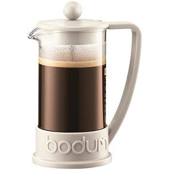 【正規品】BODUM ボダム フレンチプレスコーヒーメーカー ホワイト 0.35L BRAZIL ブラジル 10948-913J