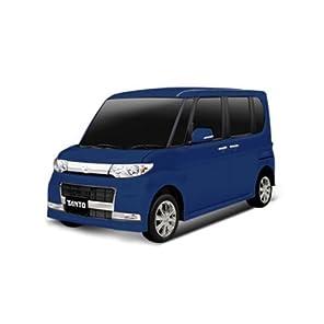 ラジコン 車 ラジコンカー RC DAIHATSU TANTO タント ブルー
