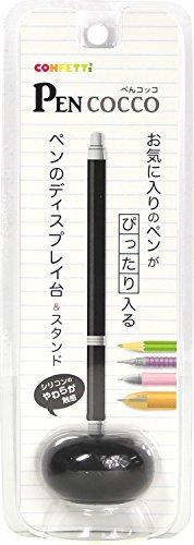 CONFETTi ペン立て ぺんコッコ ブラック P-BK16
