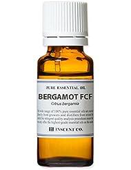ベルガモットFCF (ベルガプテンフリー) 20ml インセント アロマオイル AEAJ 表示基準適合認定精油 (フロクマリンフリー)