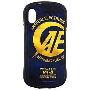バンダイ 機動戦士ガンダムUC iPhoneXR(6.1インチ)対応ハイブリッドガラスケース アナハイム・エレクトロニクス gd-98b