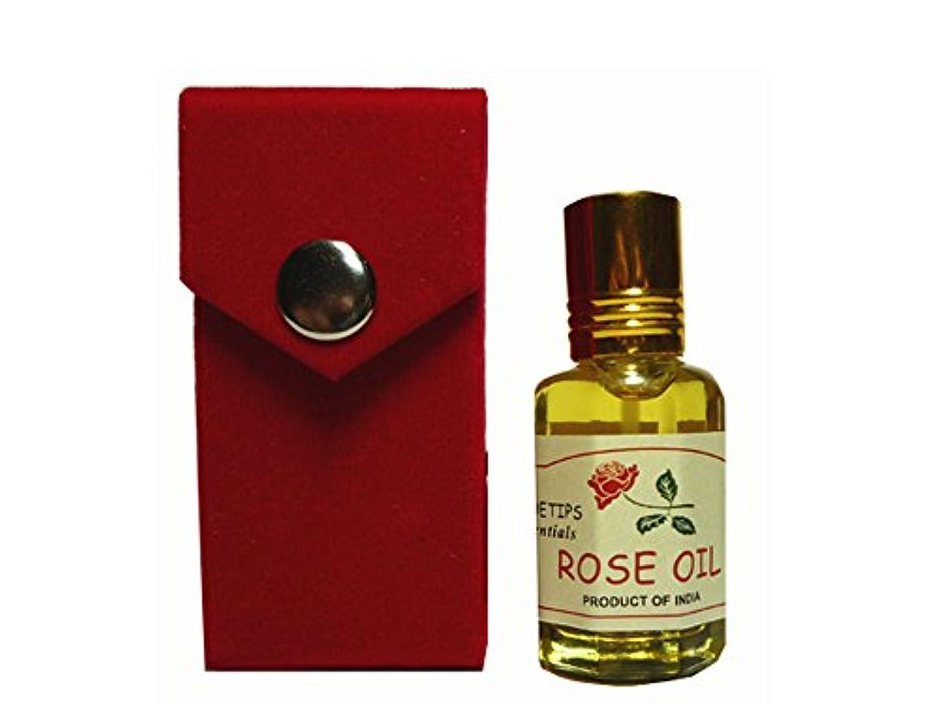電極アクティブ利益ペコー ティップス ダマスクローズ オイル オット 100%精油(インド産 精油)PEKOE TIPS TEA ROSE ESSENTIAL OIL ROSA DAMASCENA(Damask rose) 12ml