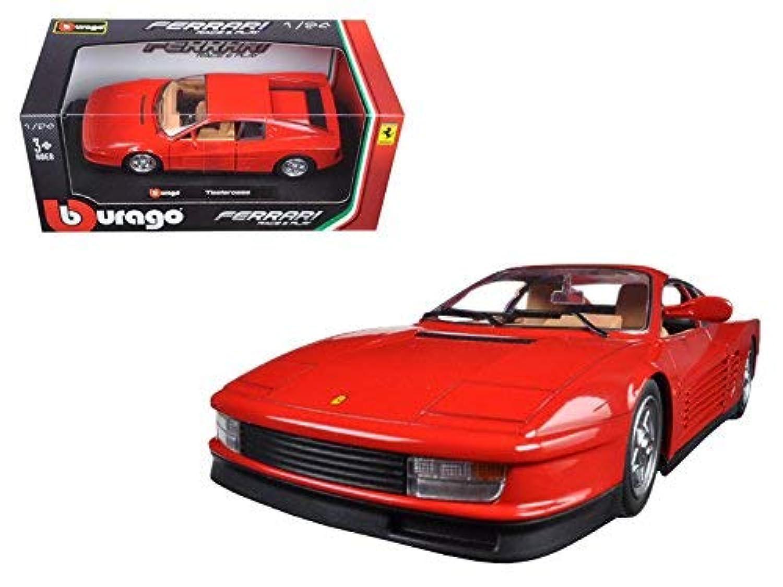 イタリア ブラーゴ burago フェラーリ テスタロッサ 1/24 モデルカー ダイキャスト製 ミニカーFerrari Testarossa [並行輸入品]