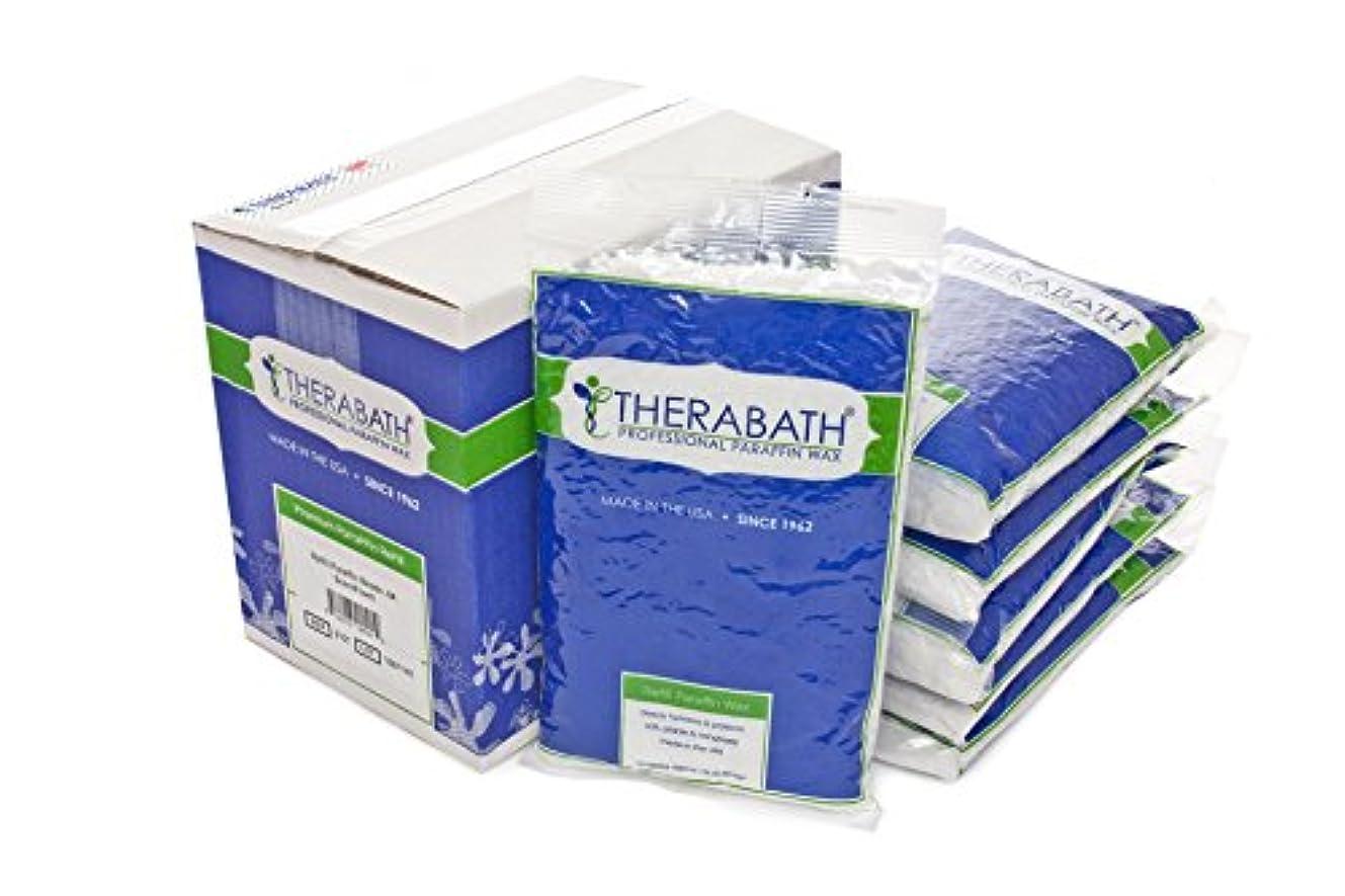 塩辛いダーツ苛性THERABATH パラフィン 6ポンド (ピーチ)