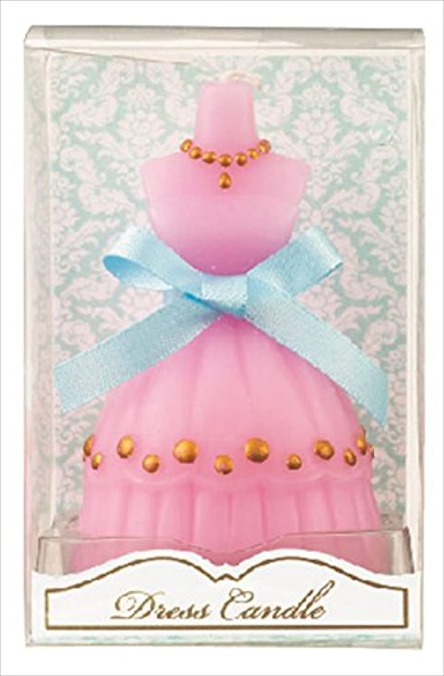 カメヤマキャンドルハウス   プチギフトにもおすすめ ドレスキャンドル ピンク