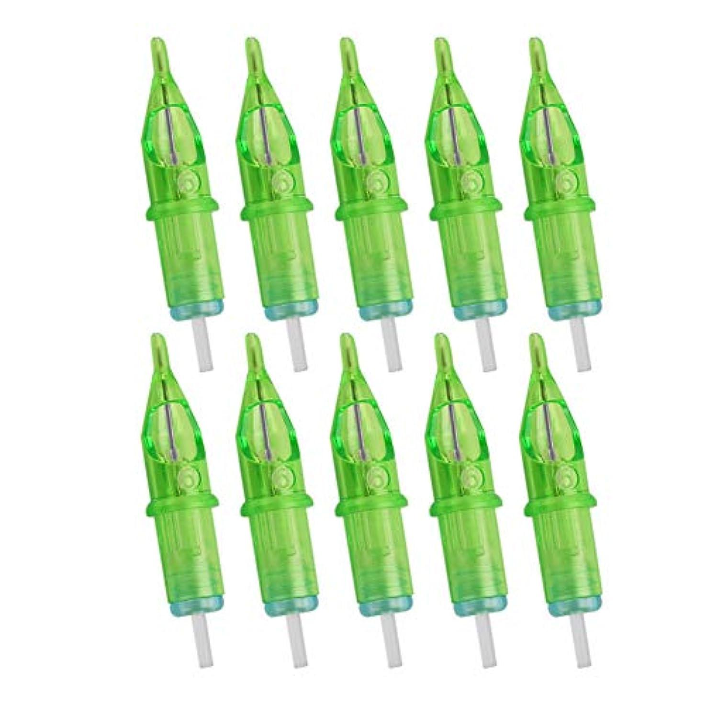 動物葉っぱソフトウェアインテリア備品と機械のカートリッジのラウンドダイヤモンドスキルシリーズの使い捨てカートリッジ針プロの滅菌セット5RL