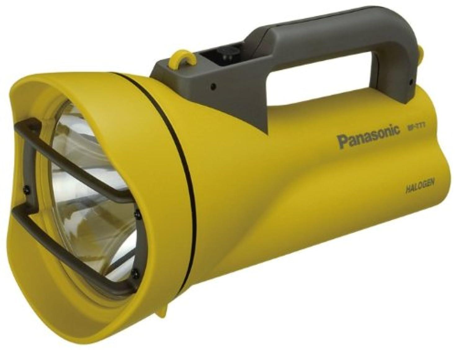 神秘頂点売上高パナソニック ハロゲン強力ライト(単1電池6個用) 黄色 BF-777F-Y