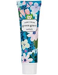 サンハーブ ハンドクリーム グリーングラス 30mL(手指用保湿 携帯 ご褒美 ギフト 香りを纏う)