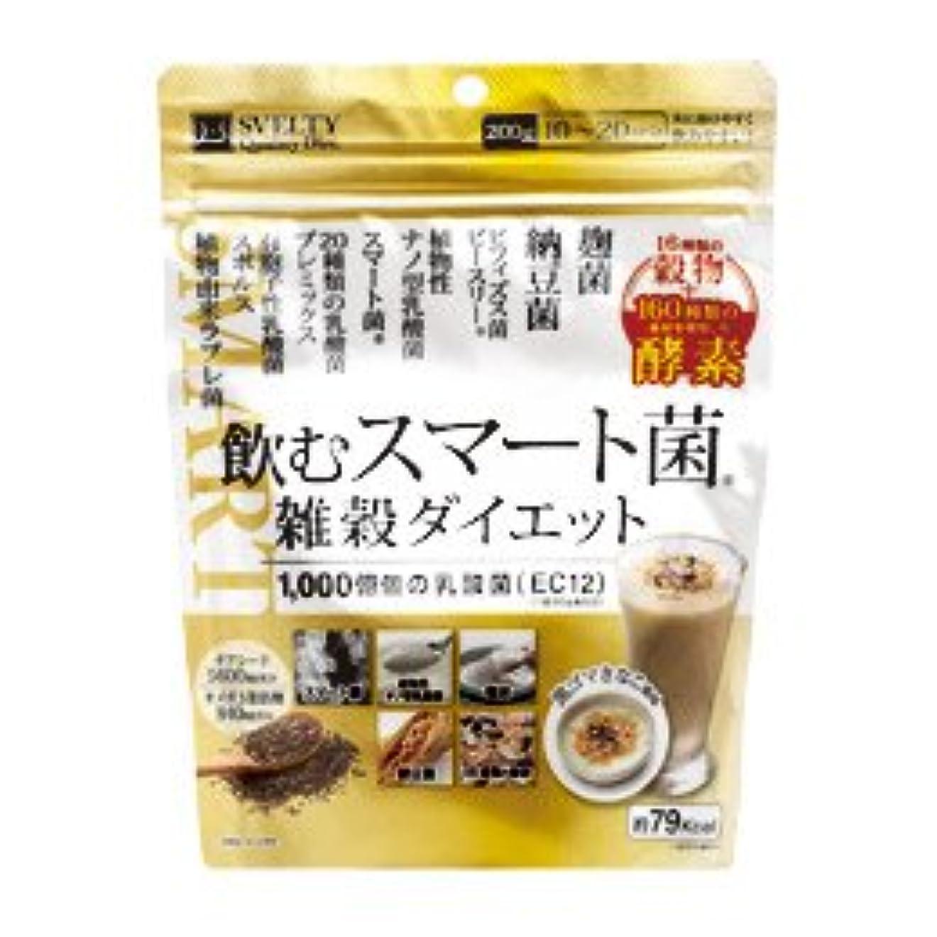 時々時々バケット曖昧なイムノス 飲むスマート菌 雑穀ダイエット 200g×36個