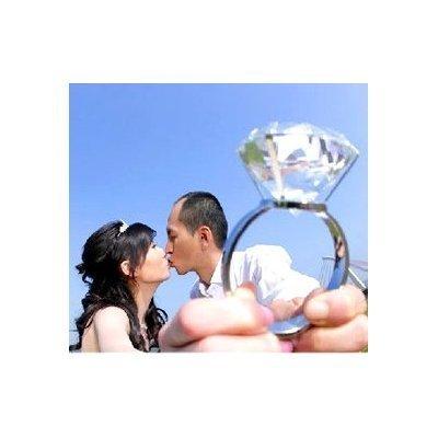 超巨大 指輪 サプライズ リング 80号サイズ プロポーズ 結婚式 お祝い 記念日インテリアにも