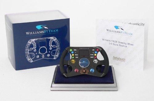 ウィリアムズ FW28 ステアリングホイール Amalgam1/4スケール