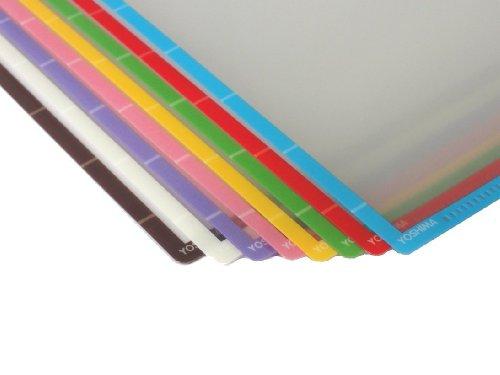 ふちどりカラーファイル 8色セット 日本製 2枚目のサムネイル