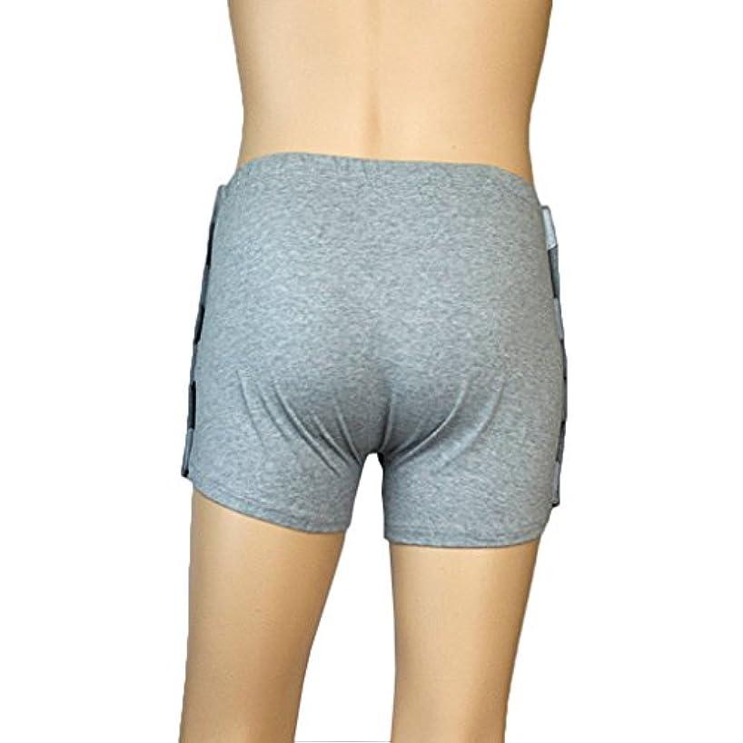 実り多い通路考古学的なHellery 身体障害者用の柔らかい灰色の再利用可能な洗える失禁患者下着 - M