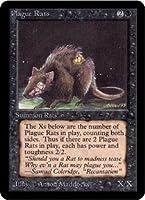 英語版 リミテッド・エディション・アルファ Limited Edtion Alpha LEA 疫病ネズミ Plague Rats マジック・ザ・ギャザリング mtg