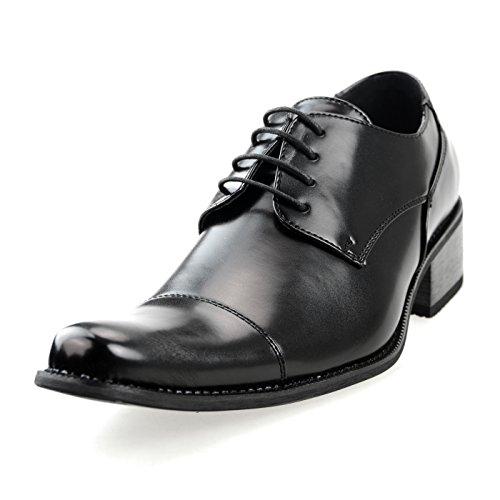 [エムエムワン] MM/ONG ビジネスシューズ メンズ MPT170シリーズ レースアップシューズ モンクストラップ ベルクロ 紳士靴 結婚式 フォーマル 高い ヒール 【 MPT170-MTM 】 G 46(28.0Gm)