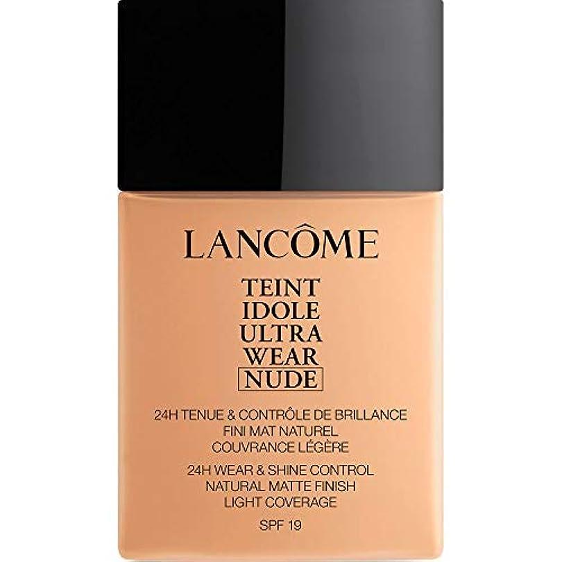 壮大スクレーパー生き返らせる[Lanc?me ] ランコムTeintのIdole超摩耗ヌード財団Spf19の40ミリリットル032 - ベージュCendre - Lancome Teint Idole Ultra Wear Nude Foundation...