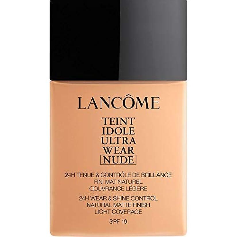 酸っぱいジム本部[Lanc?me ] ランコムTeintのIdole超摩耗ヌード財団Spf19の40ミリリットル032 - ベージュCendre - Lancome Teint Idole Ultra Wear Nude Foundation...