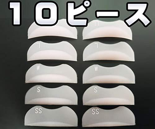 【セルフまつげパーマセット ロッド式 5サイズ10ピースセッ...
