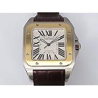 カルティエ サントス100 LM W20072X7 シルバー メンズ 腕時計 [並行輸入品]
