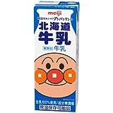 それいけ!アンパンマンの北海道牛乳  200ml×24本