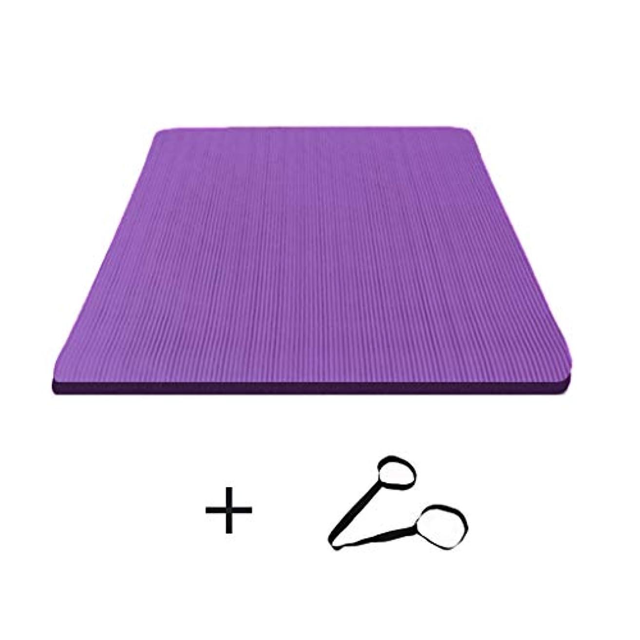 ひまわり米ドル矛盾する寝袋アウトドアアウトドアブッシュスリーシーズンキャンプ ダブルヨガマット特大広め滑り止めフィットネス毛布キャンプに適して男性と女性200 * 160センチメートル で利用できる単一の二重色 (サイズ さいず : 紫の-15mm, サイズ さいず : Ordinary style)