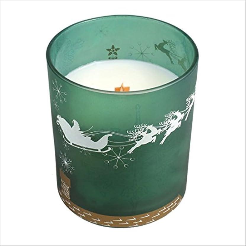 タップ広範囲にかび臭いウッドウィック  木製芯でパチパチ音がする ディーカルグラスジャー入りキャンドル 「 フレイザーファ- 」 伐りたてのモミの木の香り 燃焼時間約50時間