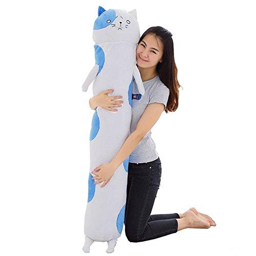 (エブレドレス)everydress 2016 抱き枕 可愛い猫 縫いぐるみおもちゃ ホワイト アニメ プレゼント (1.5メートル)
