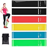 Jasonwell Resistance Loop Bands, Resistance Exercise Bands for Home Fitness, Crossfit, Stretching, Strength Training, Physica