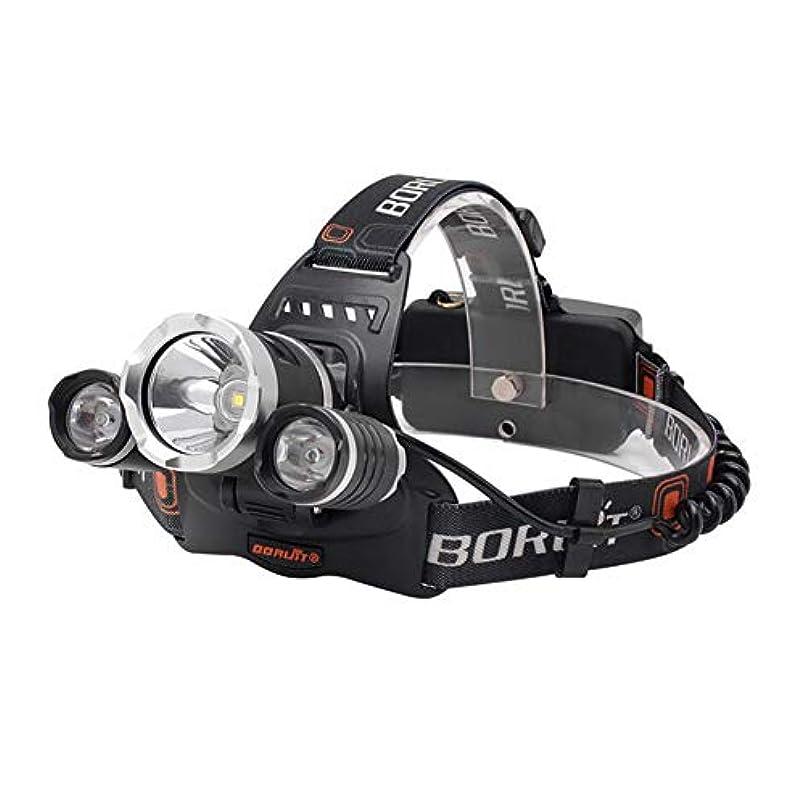 操るを必要としていますもろいLEDヘッドライトトーチ6000LmヘッドランプヘッドライトランプUSB充電式18650バッテリーキャンプ用ハイキングバイク自転車乗馬サイクリング登山狩猟釣り