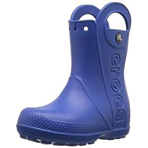 [クロックス] ハンドル イット レイン ブーツ キッズ 12803 Sea Blue C8(15.5cm)