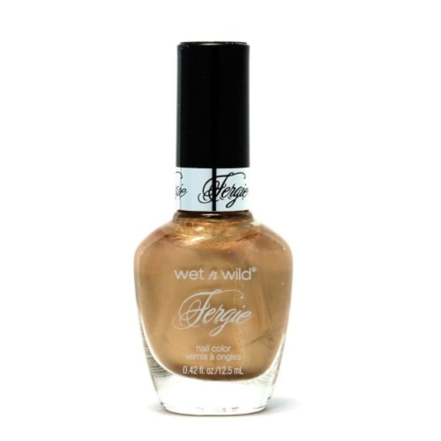 胚ヶ月目大理石(6 Pack) WET N WILD Fergie Heavy Metal Nail Polish - Graphite Greetings (DC) (並行輸入品)