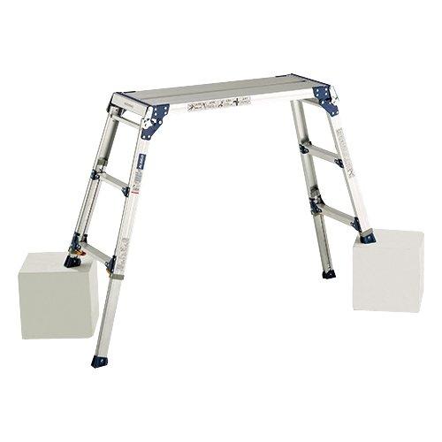 アルインコ 足場台 天板高さ0.7~1.00m 最大使用質量100kg PXGE710F
