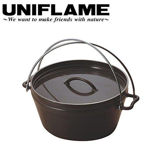 (ユニフレーム)UNIFLAME ダッチオーブンスーパーディープ 10インチ/660973 uf-660973