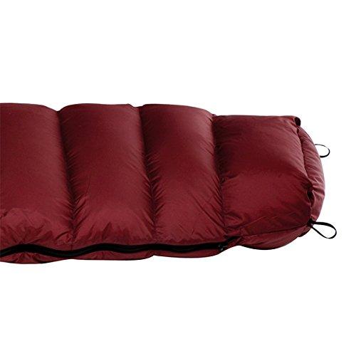 NANGA(ナンガ) ダウンバッグ250STD 寝袋 シュラフ 【永久保証】 DB9 プラム レギュラー オリジナル大ステッカー付(15×15cm)