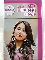 CHAEYOUNG チェヨン - TWICE トゥワイス グッズ / フォト メッセージカード 30枚セット - Photo Message Card 30pcs [TradePlace K-POP 韓国製]