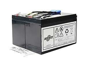 SUPER NATTO(スーパーナット) Smart UPS700(SU700J)用バッテリーキット 完全互換品 大容量タイプ RBC5J-S(RBC5J互換)