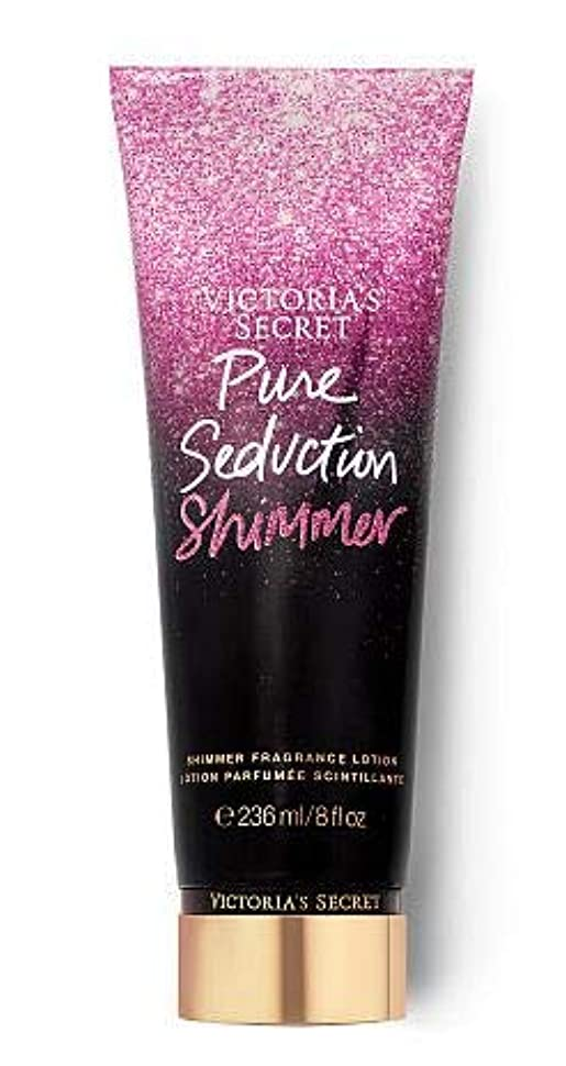 マージン威するスロープVICTORIA'S SECRET Holiday Shimmer Fragrance Lotion ボディシマーローション (Bare Vanilla)