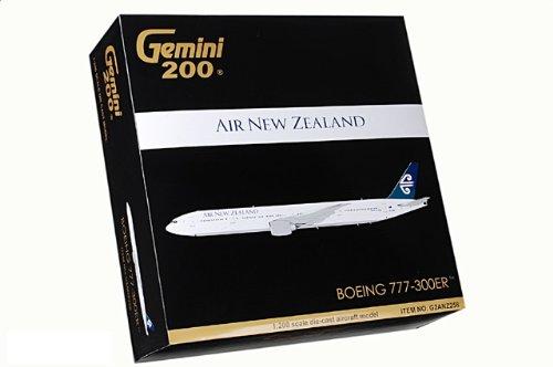 1:200 ジェミニジェット 200 G2ANZ258 ボーイング 777-300ER ダイキャスト モデル Air New Zealand ZK-OKM【並行輸入品】
