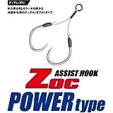 メジャークラフト ZOCアシストフック太軸大物対応 ZOC-PD20#1/0