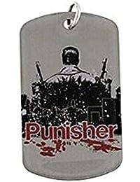 Marvel Comics Punisher Vigilante Hero犬タグペンダントネックレス2013