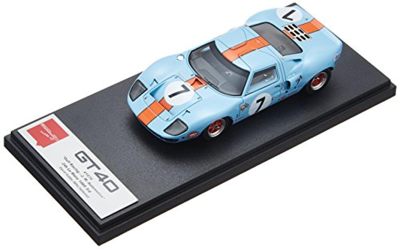 メイクアップ EIDOLON 1/43 GT40 Gulf Racing ル?マン 24h 1967 3位 No.7 完成品